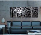 Abstract Metal Wall Art Home Decor Modern Large Home Sculpture Painting