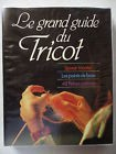 Le grand guide du tricot Savoir tricoter Points de base 48 fiches patrons /ZA2