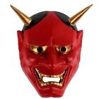rouge ONI DEVIL traditionnel japonais Halloween Masque Démon Déguisement Prajna