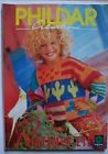 #) catalogue vintage laine tricot PHILDAR n° 230 enfants 1993 - bunny, mickey