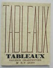 CATALOGUE VENTE TABLEAUX -GALERIE CHARPENTIER 21 juin 1960 /TOULOUSE-LAUTREC
