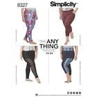 Simplicity PATRON COUTURE FEMMES tricot Leggings grande taille 1X - 5x 8327