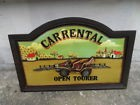cadre deco murale COUNTRY CORNER Carrental Open Tourer old car voiture Tacot