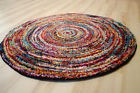 Tapis multicolore design six05 arrondir moderne 120x120cm Rond Multicolore
