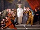 PAINTING GROUP WATTEAU ITALIAN COMEDIANS LARGE ART PRINT POSTER LF1543
