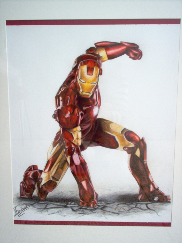Dessin iron man - Dessin ironman ...