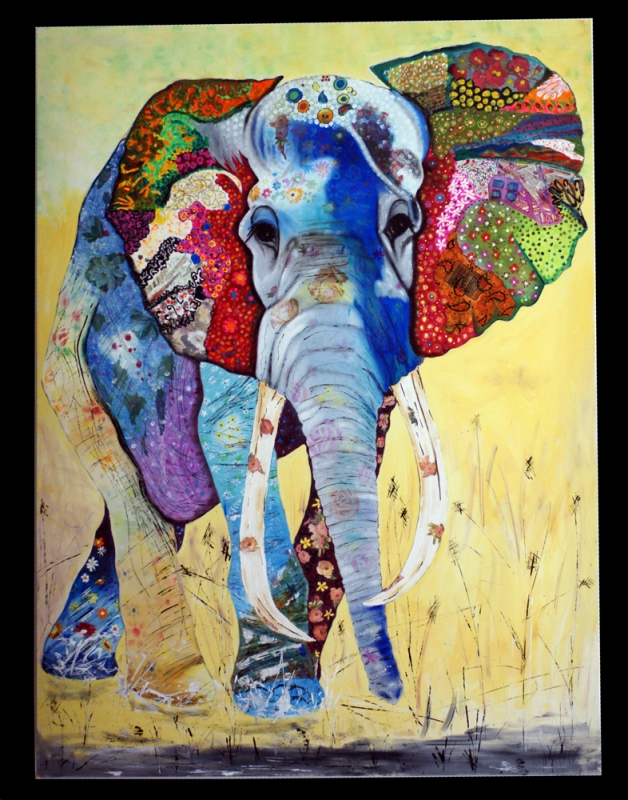 Peinture Elephant