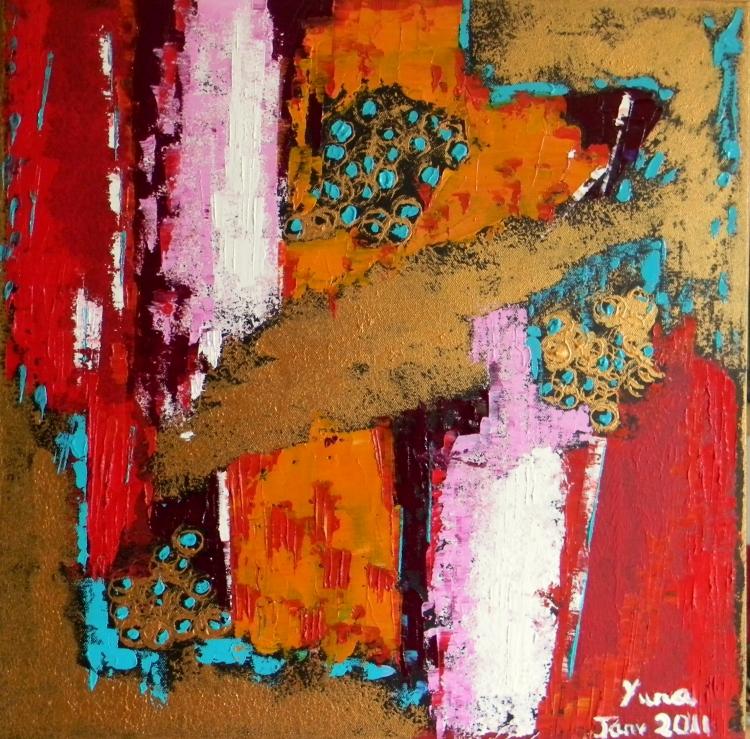 Tableau peinture art abstrait huile peinture huile for Galerie art abstrait