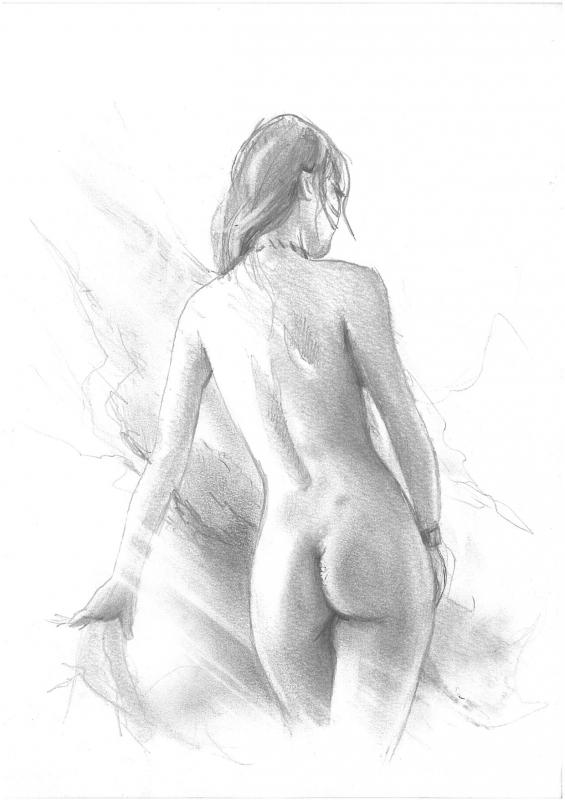 Dessins de fantaisie nue