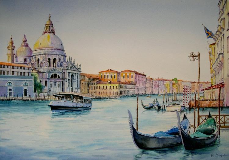 tableau peinture venise