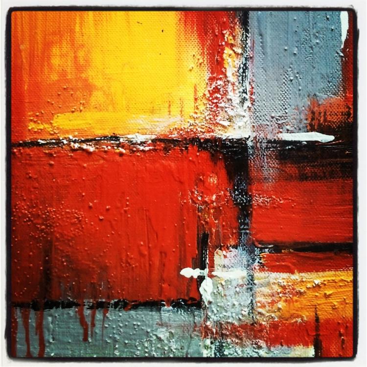 Tableau peinture art tableau abstrait noir moderne abstrait acrylique tableau acrylique sur for Photo de tableau abstrait