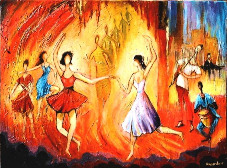 TABLEAU PEINTURE - Les Danseuses