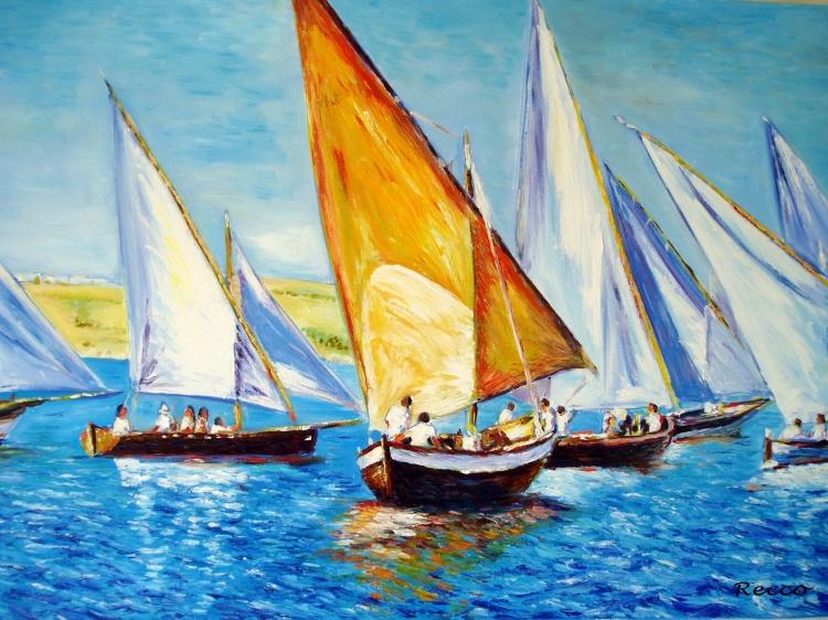 Tableau Peinture Art M...
