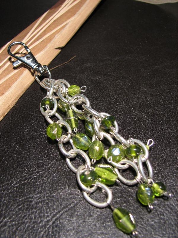 BIJOUX perles porte-clé bijoux grigri - Grigri en métal
