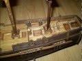 construction maquette bateau en bois