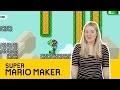 Super Mario Maker: les 5 tableaux les plus DIFFICILES!