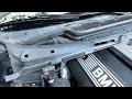 Comment démonter la baie de pare brise sur BMW E36