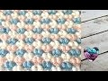 Point splendide crochet pour couvertures / Bubble blanket stitch (english subtitles)