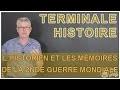 L'historien et les mémoires de la 2nde Guerre mondiale - Histoire-Géo - Terminale - Les Bons Profs