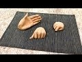 "Apprendre - Sculpture : La Main "" the hand "" Tutoriel"