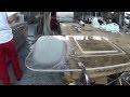 rattraper une rayure sur un aquarium acrylique