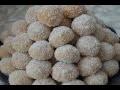 Gâteau marocain : Gâteau Richbond/Boule de noix de coco à confiture
