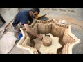 moresque : fontaine avec zellige marocain