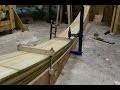 Travail du bois -  Construction d'une poutre en lamellé collé