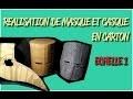 FABRIQUER DES MASQUES/CASQUES COSPLAY CHEVALIER STEAMPUNK - TUTORIEL