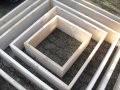 fabrication de cadres et pyramides pour jardin