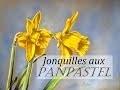 Jonquilles aux PanPastel [Démo pastel sec]