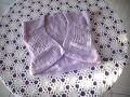 bolero au tricot pour fille 1 partie