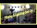 Réglages et Eclairage pour mes Vidéos - Lighting & Filming Set up