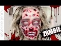 Maquillage Halloween Zombie Gore / Qui Fait Peur (sans latex)