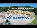 Farmwood : construction d'un hangar de stockage