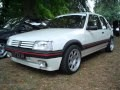 SECONDE 205 GTI 1900 BLANCHE GROUPE N PTS RESTOREE