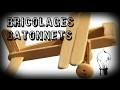 40 bricolages avec des bâtonnets de glace