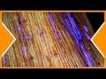 PIGMENTS PHOSPHORESCENTS  & Résine epoxy sur bois