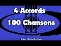 46 La Famille Tortue - 3 accords D A7 Em - 4 Accords 100 Chansons Enfants - Guitare Débutant