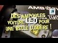 Des ampoules voiture LED pour une belle lumière !