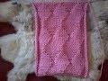 tuto point de tricot / point losanges jersey en relief / tricot facile
