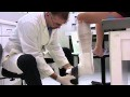 Plâtre synthétique Application sur le bas de la jambe avec Delta-Dry_FR_de BSN medical.mov