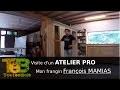 VISITE : Atelier de menuiserie ébénisterie professionnel / professional cabinet carpentry workshop