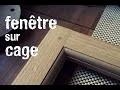 Fabrication d'un ouvrant de fenêtre intérieure en bois de chêne