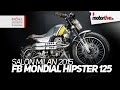 SALON MILAN 2015 | FB MONDIAL HIPSTER 125 2016 - EICMA