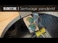 AGNES BIJOUTERIE | Serti Pendentif (simple et pas cher)