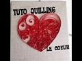 TUTO COEUR QUILLING PAPEROLLE COMMENT FAIRE UN COEUR QUILLING HOME DECO