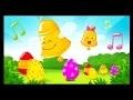 Chansons et comptines sur Pâques - Oeufs surprises cachés dans les comptines pour enfants - Titounis