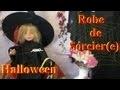 Fabriquer une robe de sorcier ou sorcière pour Halloween | Bricolage avec les enfants