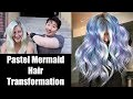 Pastel Mermaid Hair Transformation